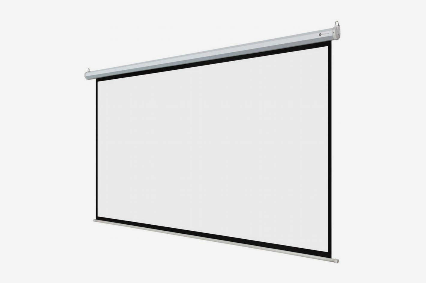 "Homegear 110"" HD Motorized 16:9 Projector Screen W/ Remote Control"