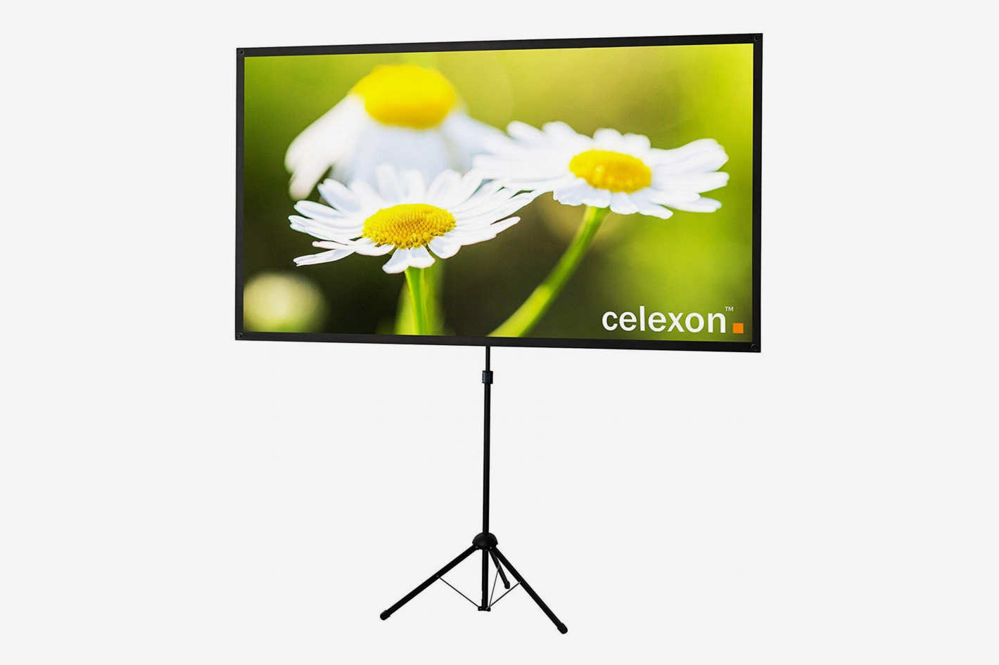 "celexon 80"" Tripod Projector Screen Ultra Lightweight, 16:9 Format"