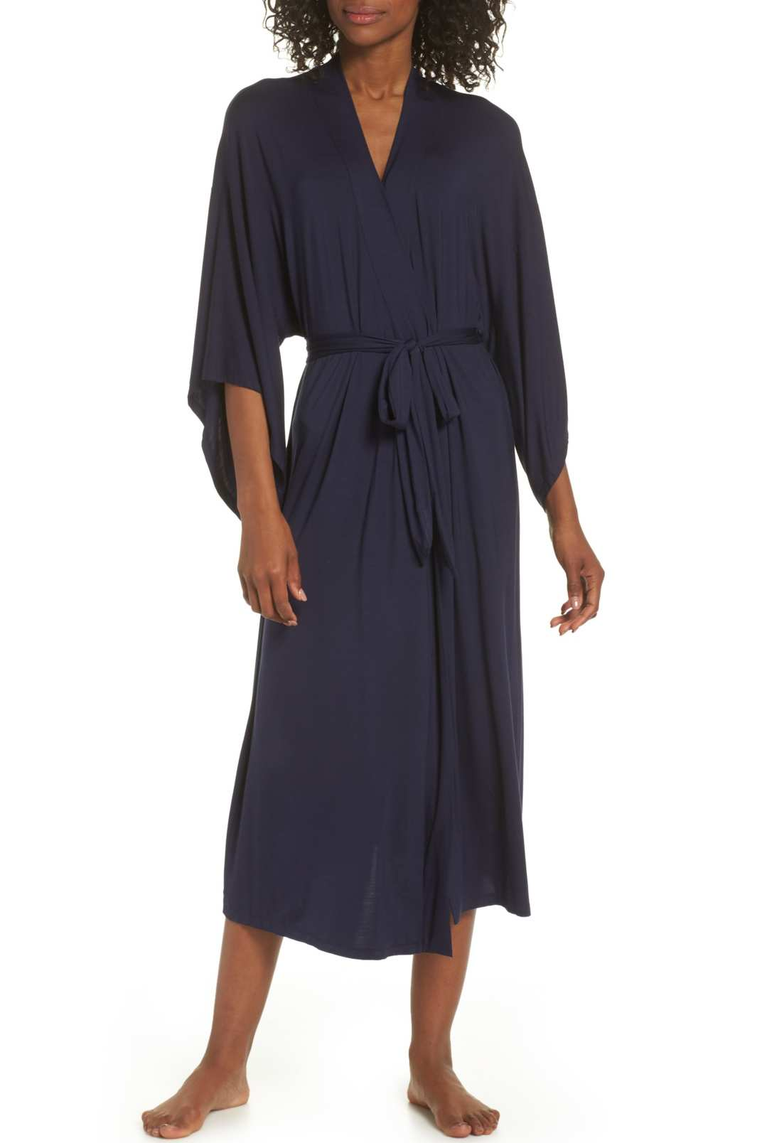 Eberjey Colette Kimono Sleeve Long Robe