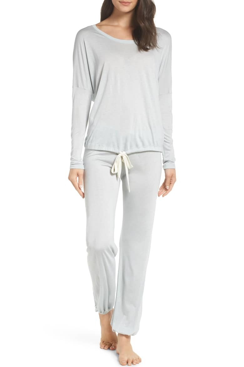 Eberjey Heather Slouchy Pajamas