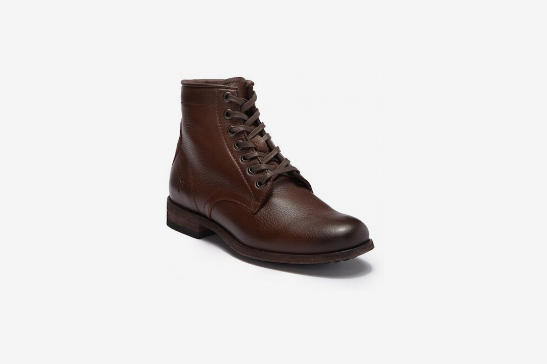 f4b007627f78 Frye Tyler Leather Women s Lace Up Boot
