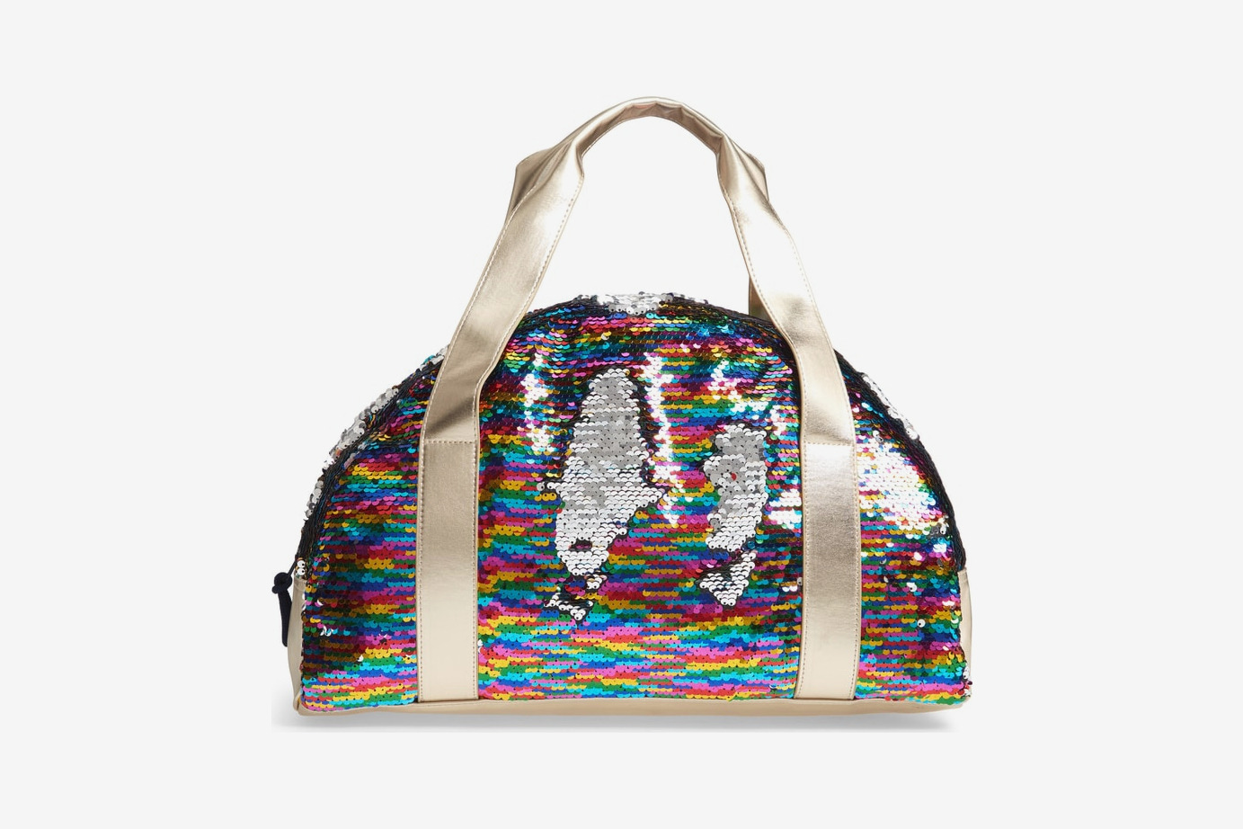 Crewcuts by J.Crew Overnight Bag with Reversible Sequins