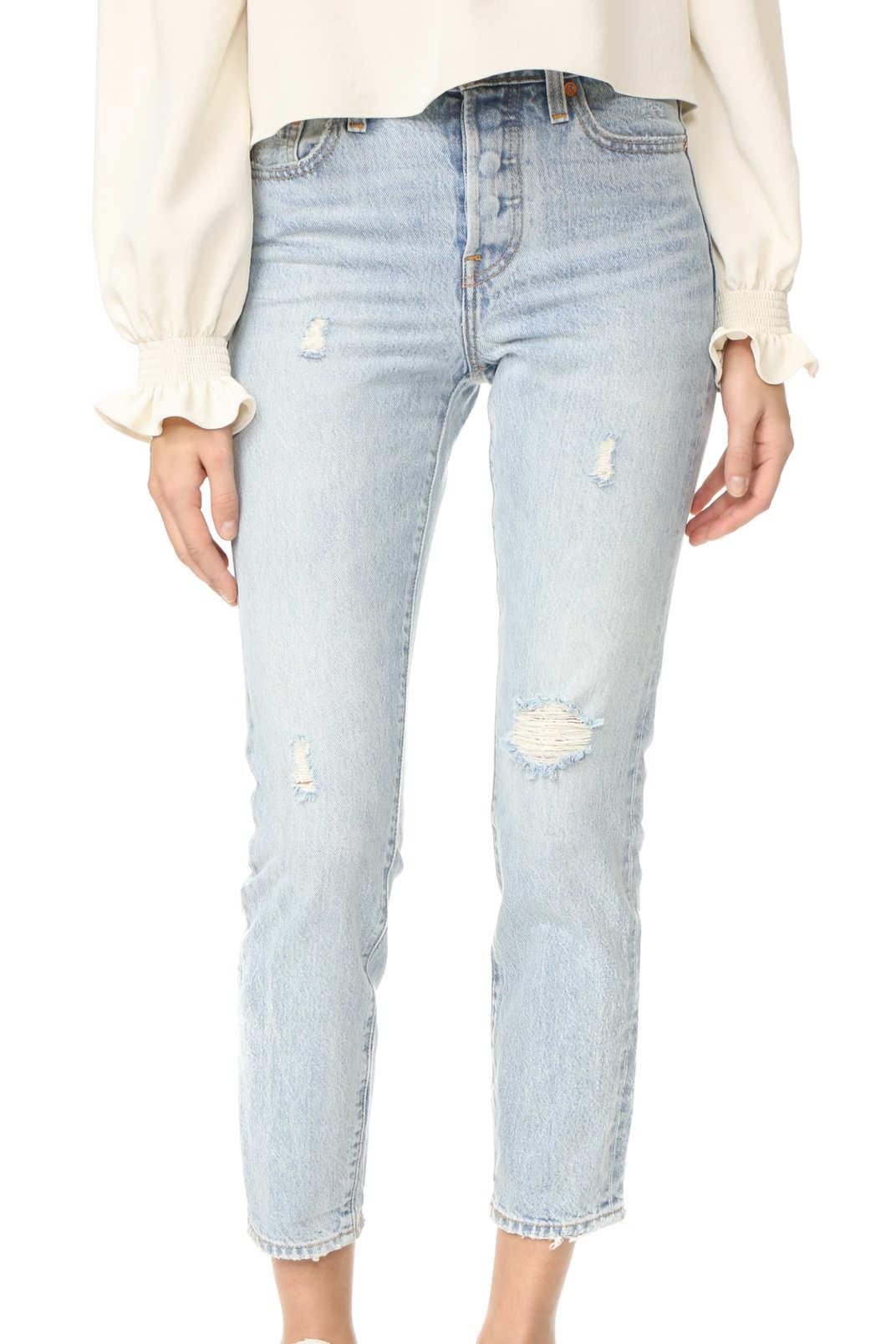 Levi's Wedgie Icon Selvedge Jeans
