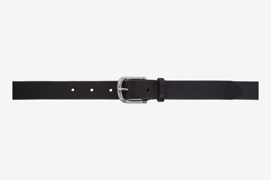 Maximum Henry Black & Silver Slim Standard Belt
