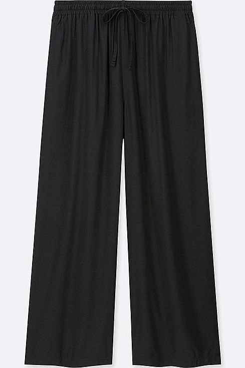 Uniqlo Drape Wide Pants