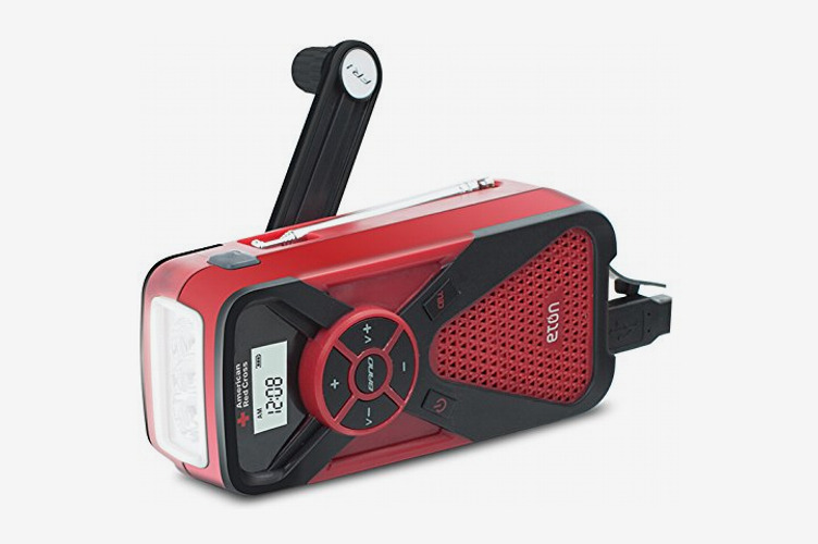 Eton The American Red Cross FR1 Emergency Weather Radio with Smartphone Charger