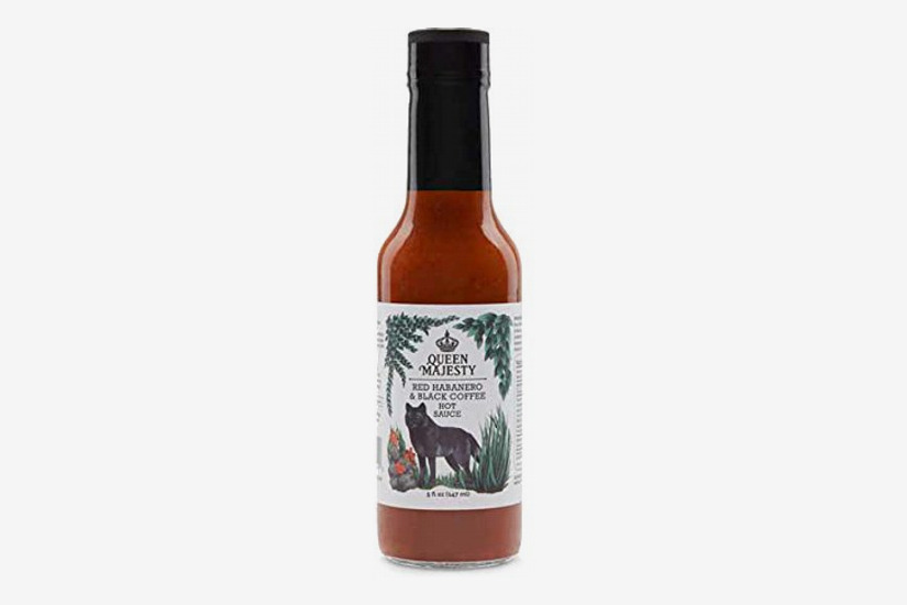 Queen Majesty Hot Sauce: Red Habanero & Black Coffee