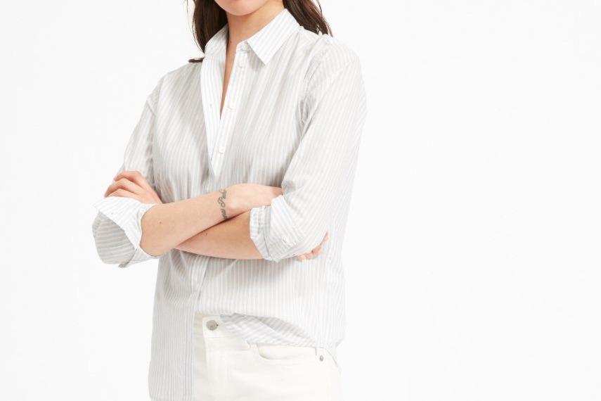 Everlane Relaxed Soft Cotton Shirt