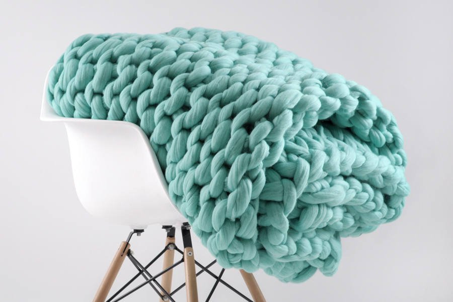 Ohhio Grande Punto Large Blanket
