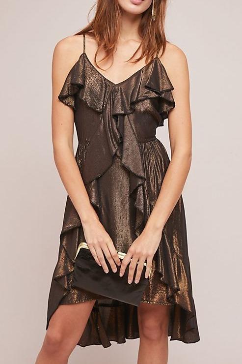 Alloy Metallic Dress