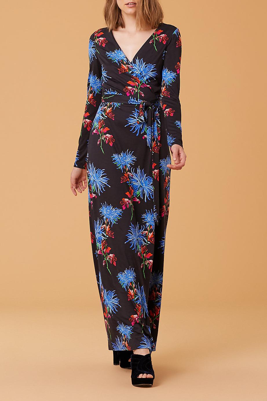 Diane von Furstenberg New Julian Two Long Wrap Dress