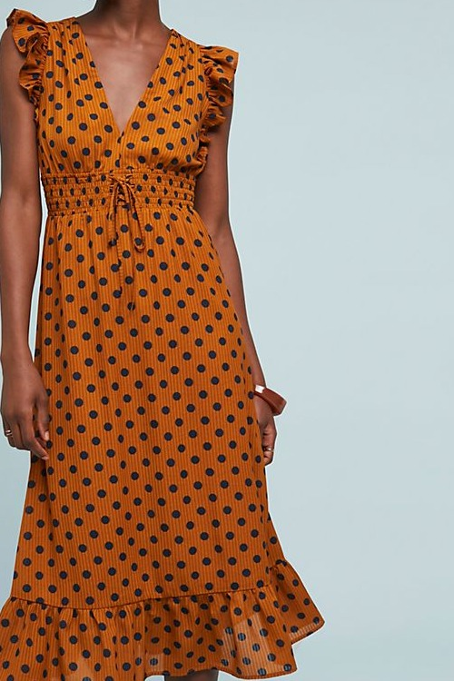 Makeda Polka Dot Dress
