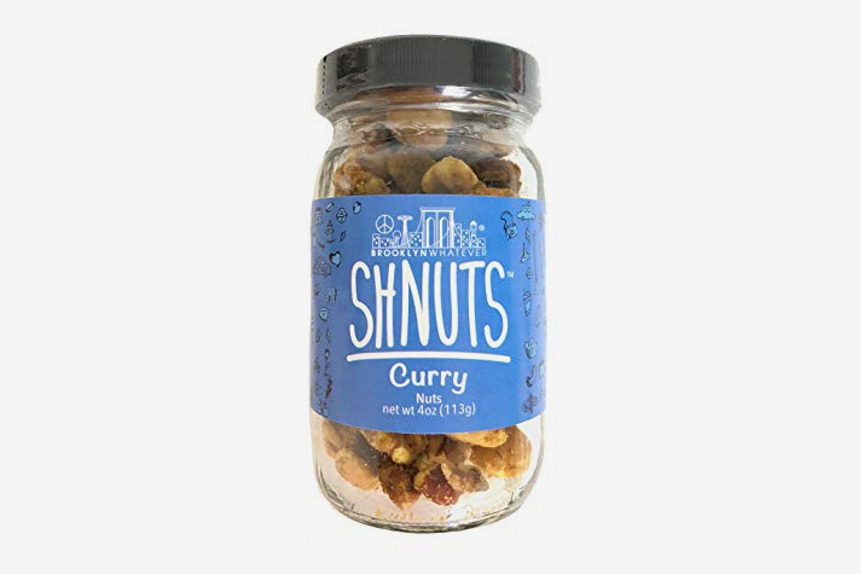 "Brooklyn Whatever ""Shnuts:"" Curry Flavored Nuts"