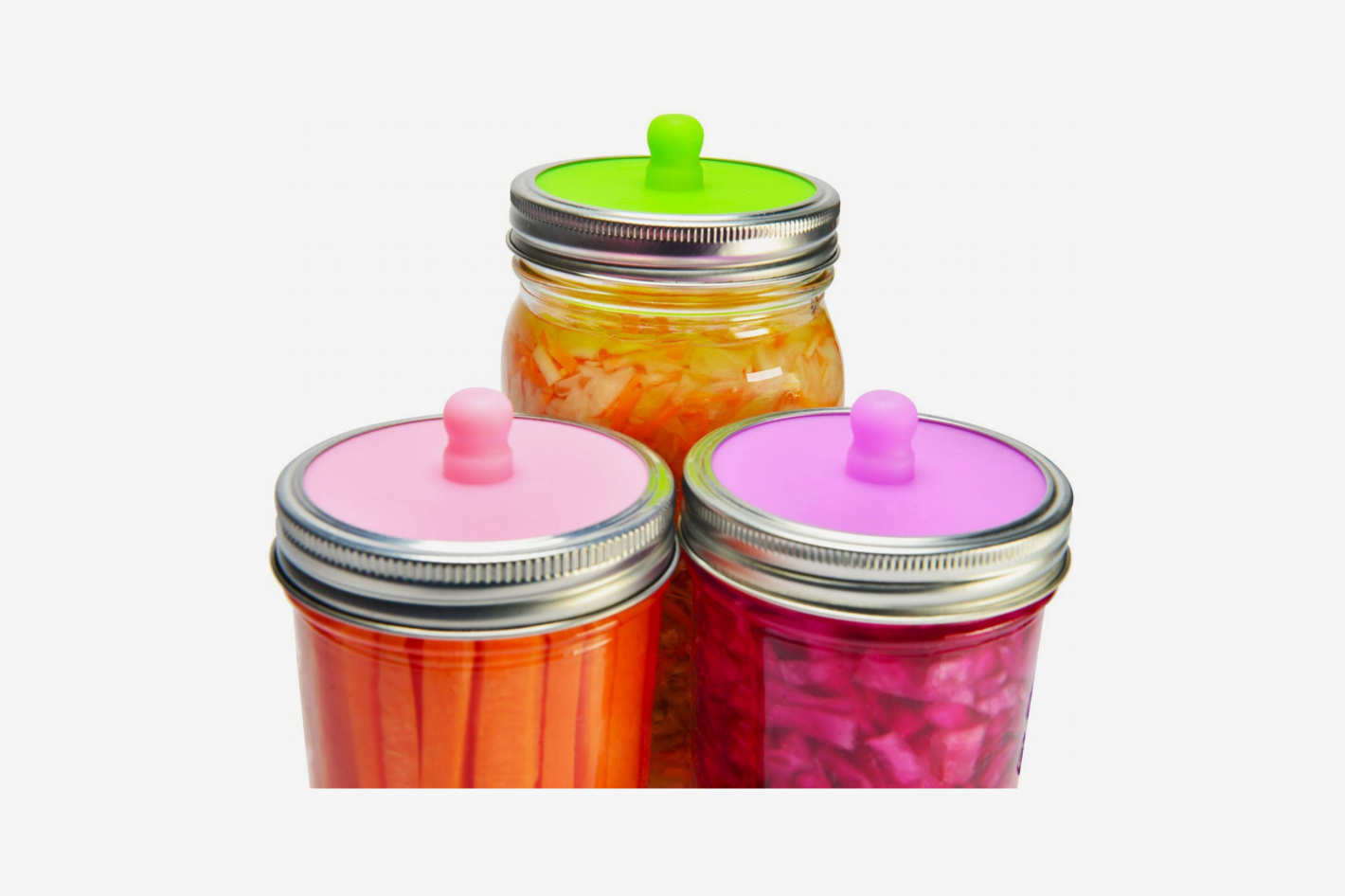 6-Pack Waterless Airlock Fermentation Lids