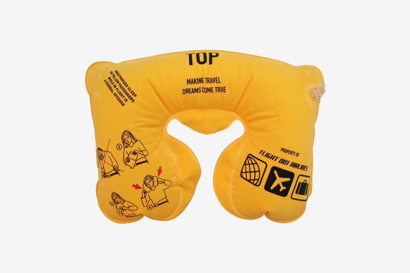 Flight 001 Air Supplies Inflatable Safety Neck Pillow