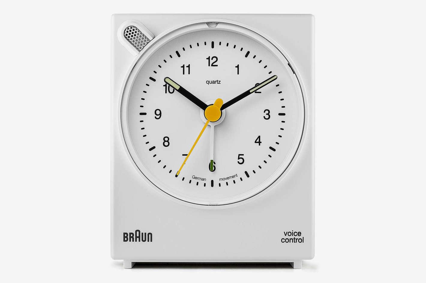 Braun Voice-Activated Alarm Clock