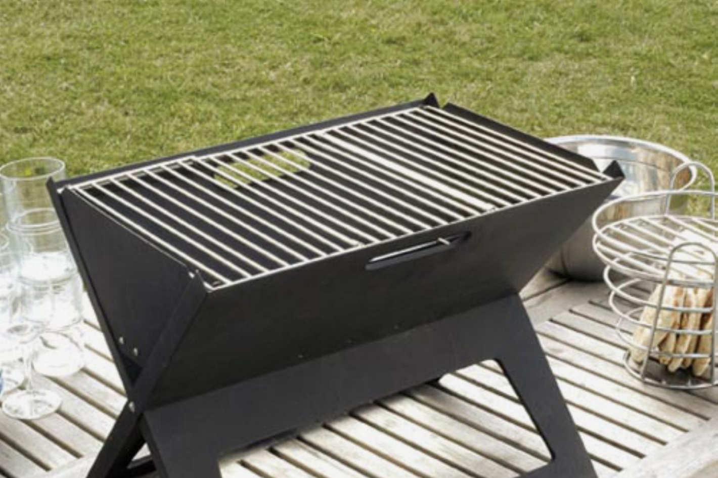 Fire Sense Foldable Portable Grill