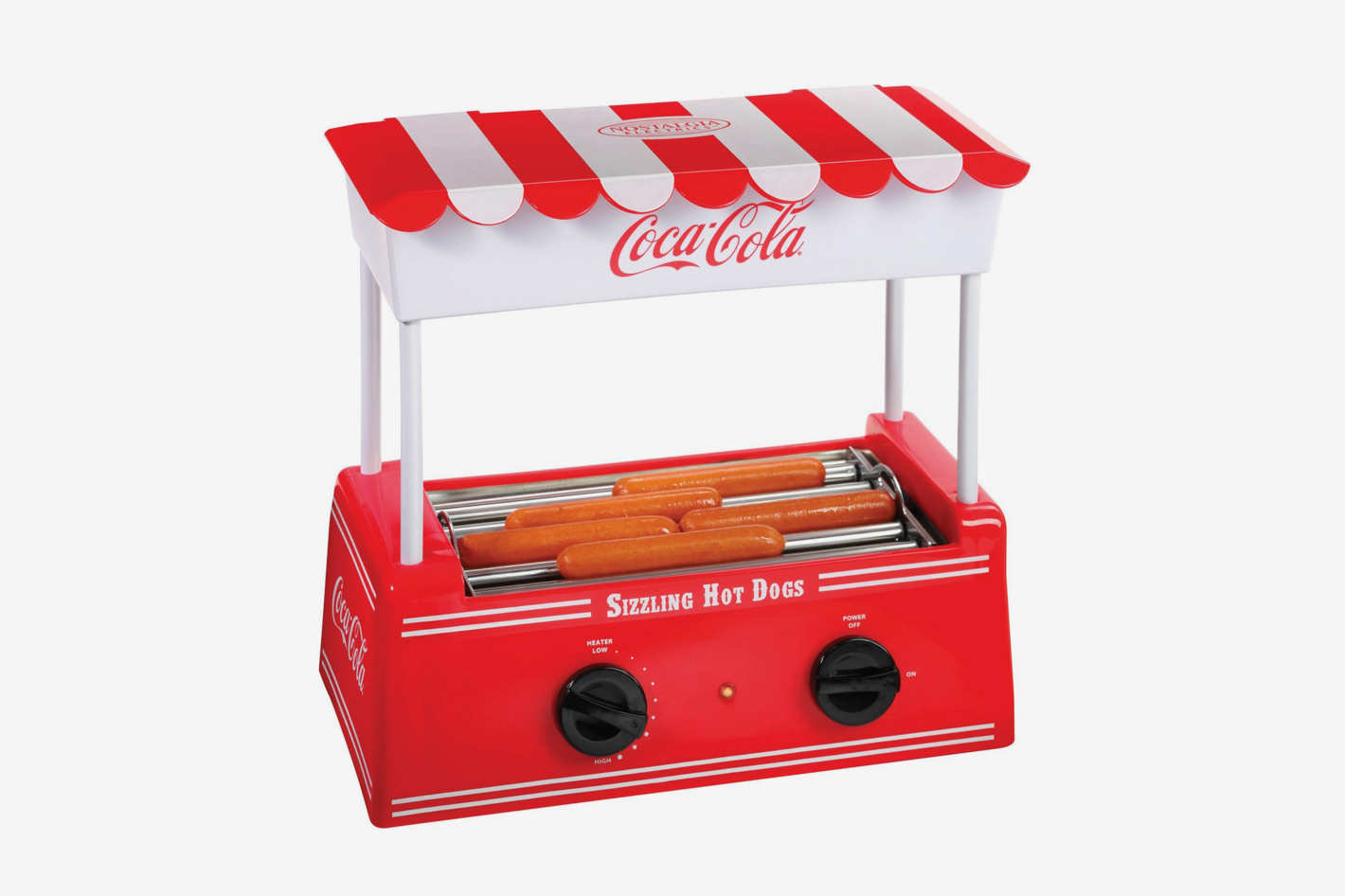 Nostalgia Electrics Coca Cola Hot Dog Roller
