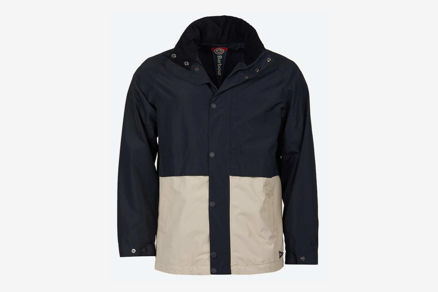 Barbour Dolan Colorblocked Rain Jacket