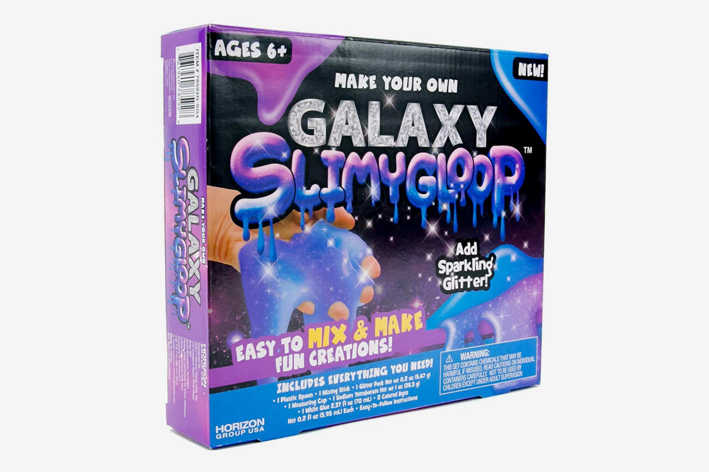 Make Your Own Galaxy Slimygloop