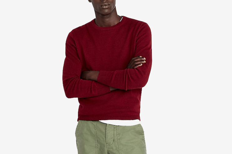 J.Crew Everyday Men's Cashmere Crewneck Sweater