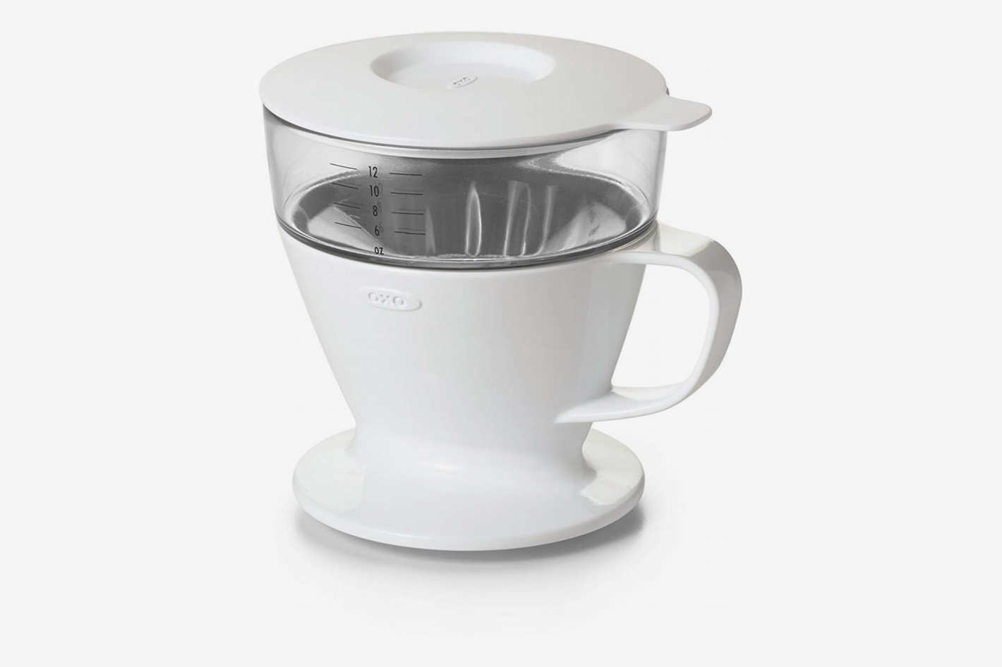 OXO Good Grips Single Serve Pour Over Coffee Dripper With Auto Drip Water Tank