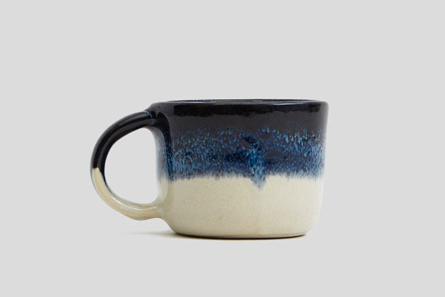 Helen Levi Traditional Ceramic Ombre Mug