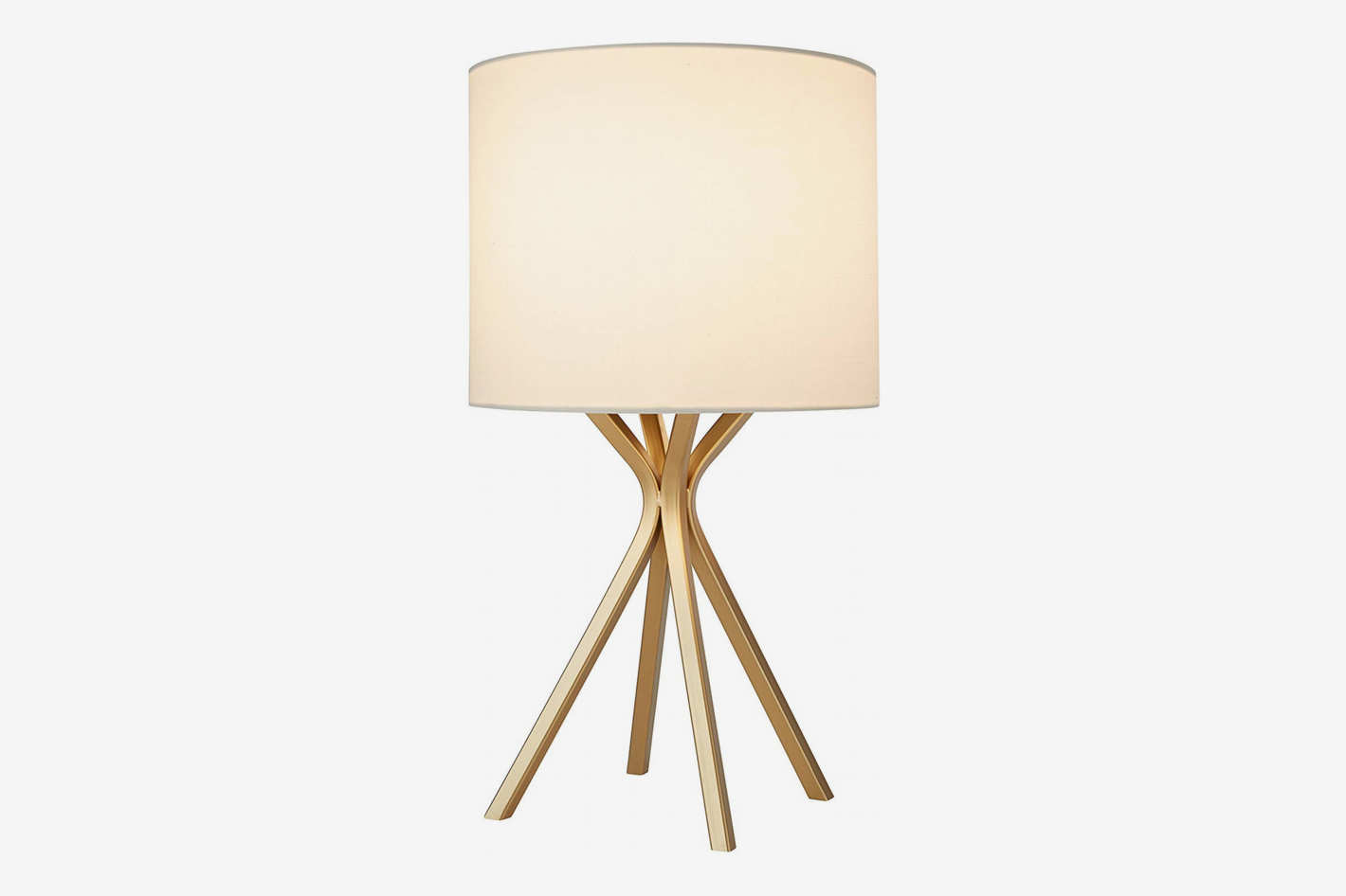 Rivet Gold Table Lamp
