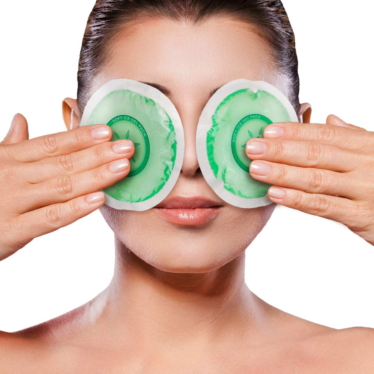 IceWraps Reusable Gel Pack Hot or Cold Ice Packs for Puffy Eyes