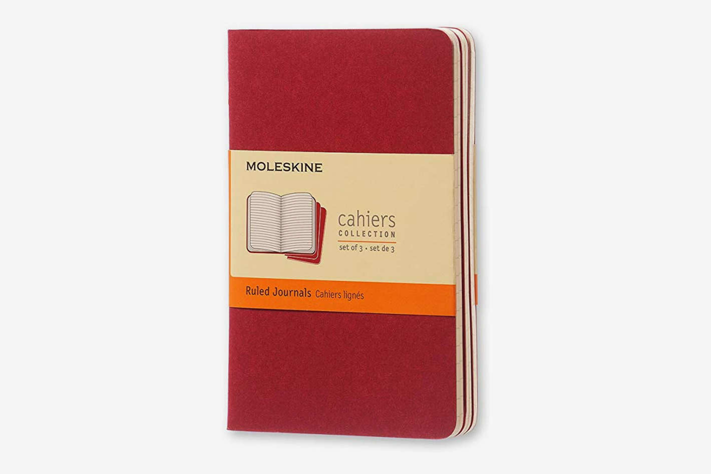 Moleskine Cahier Soft Cover Journal, Set of 3