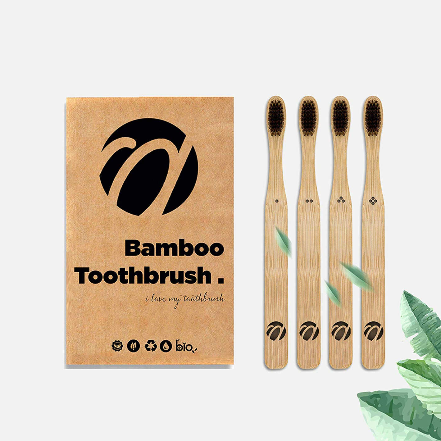 PAVICICO Bamboo Toothbrush