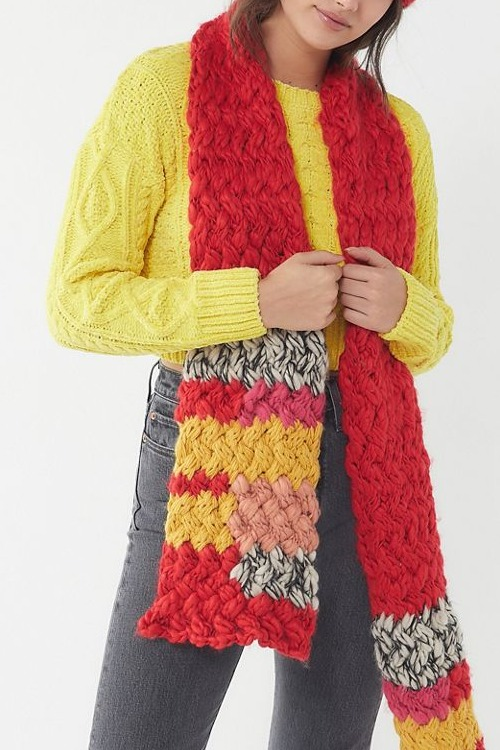 Craft Knit Scarf