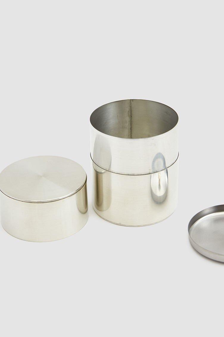 Kaikado 200g Wide Tin Tea Canister