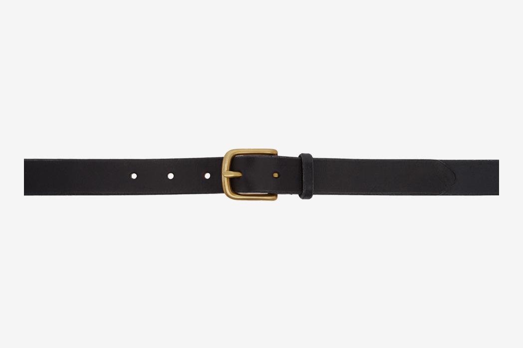 Maximum HenryBlack & Gold Slim Standard Belt