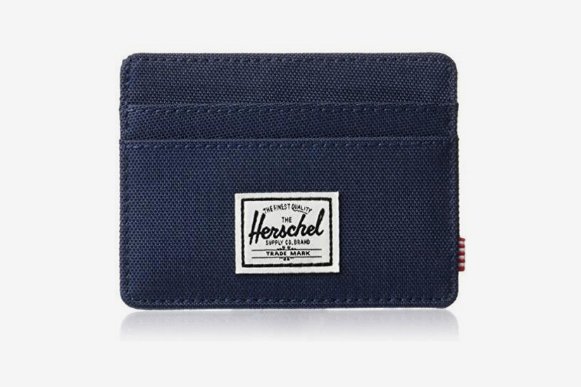 Herschel Supply Co. Men's Charlie RFID-Blocking Card Holder Wallet