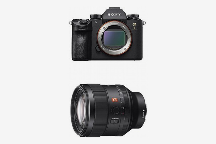 Sony a9 Full Frame Mirrorless Interchangeable-Lens Camera w/ SEL85F14GM F1.4 Lens