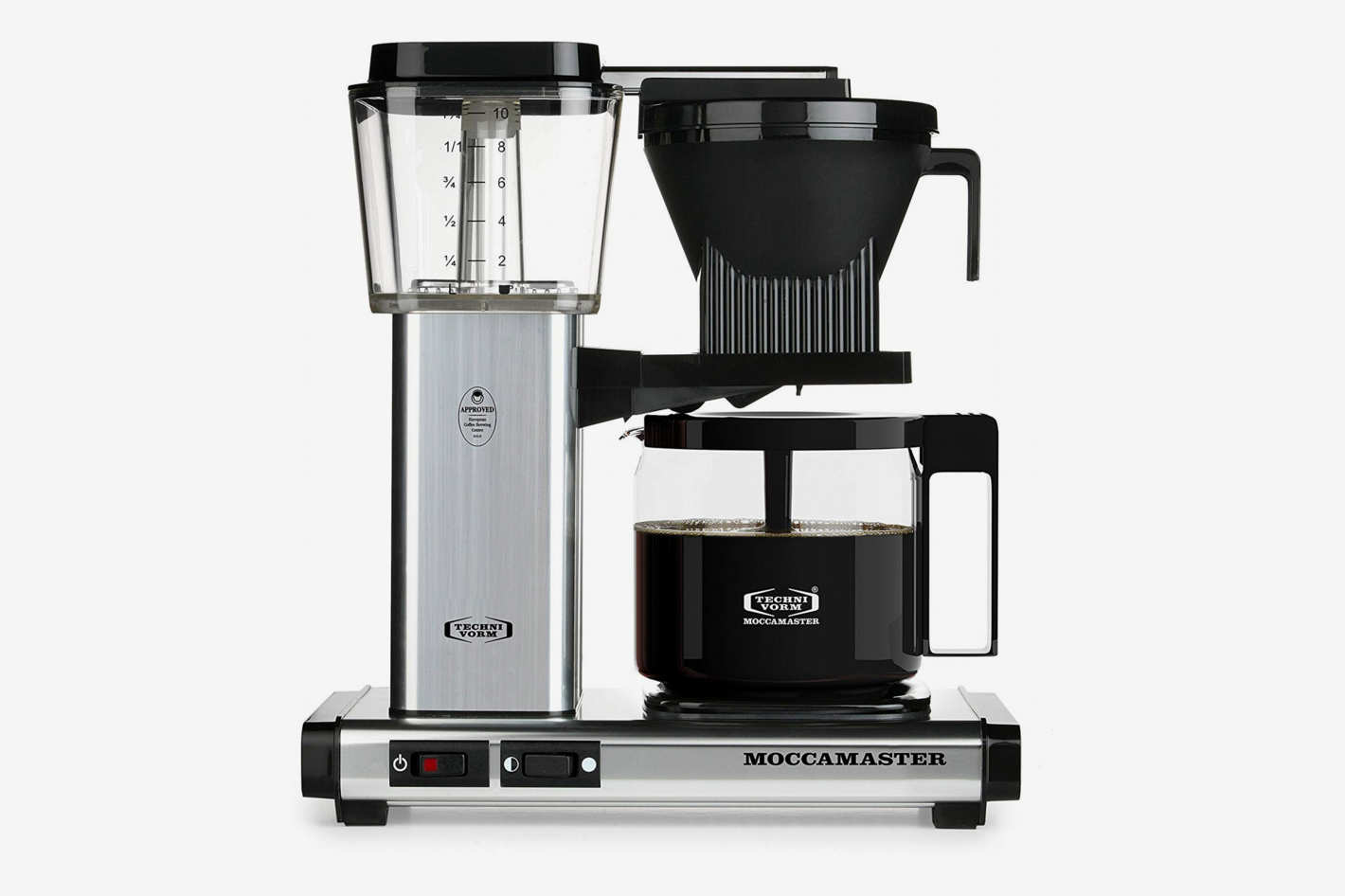 Technivorm Moccamaster 59616 KBG Coffee Brewer, 40 oz