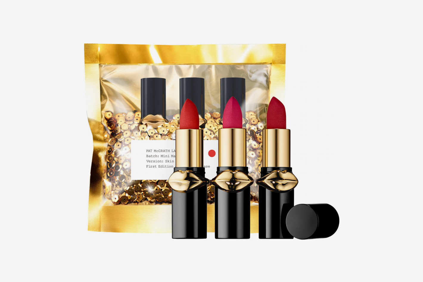 Pat McGrath Lust Mini MatteTrance™ Lipstick Trio