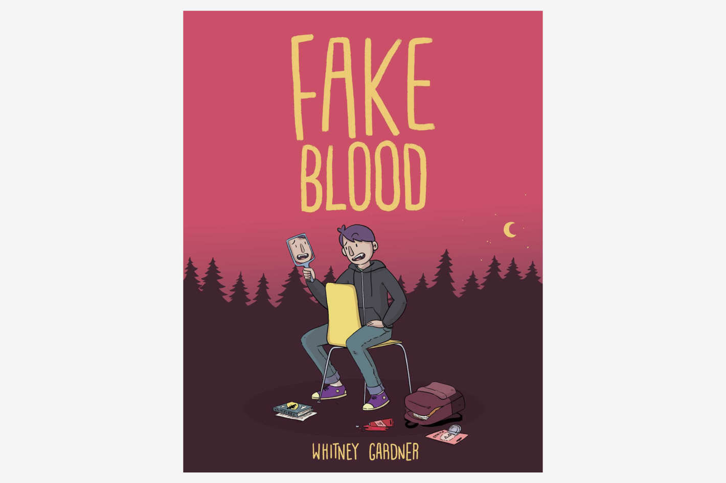 <em>Fake Blood</em>, by Whitney Gardner