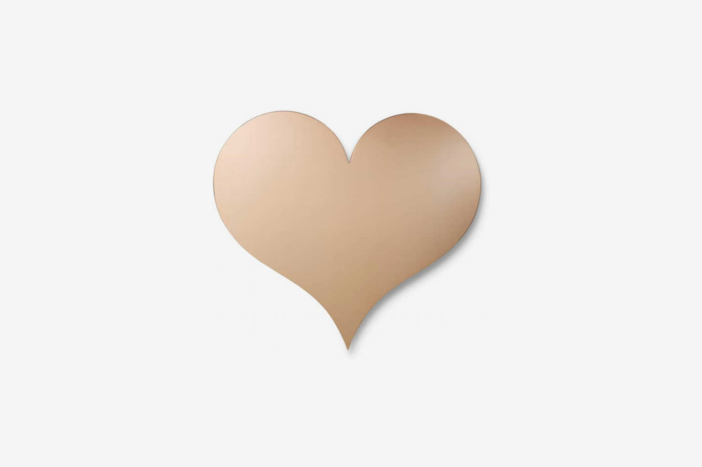 Vitra Heart Metal Wall Relief Ornament