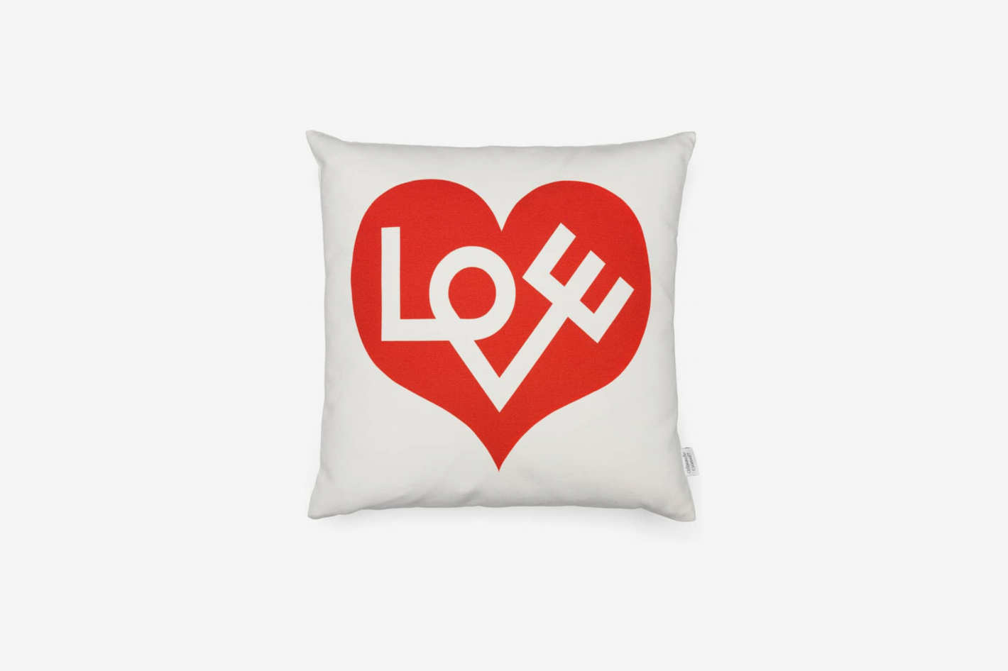 Vitra Love Graphic Print Pillow