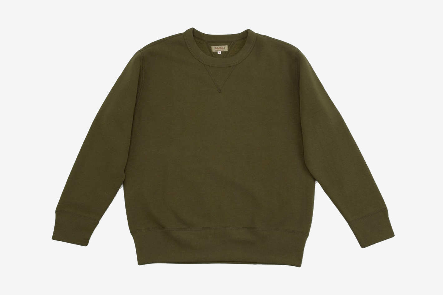 The Real McCoy's Loopwheel Crewneck Sweatshirt