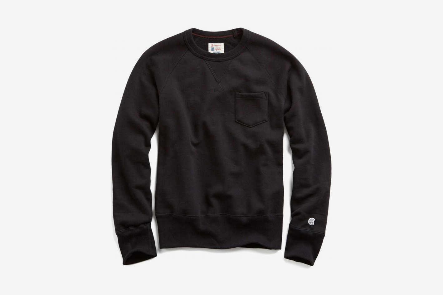 Todd Snyder + Champion Classic Pocket Sweatshirt