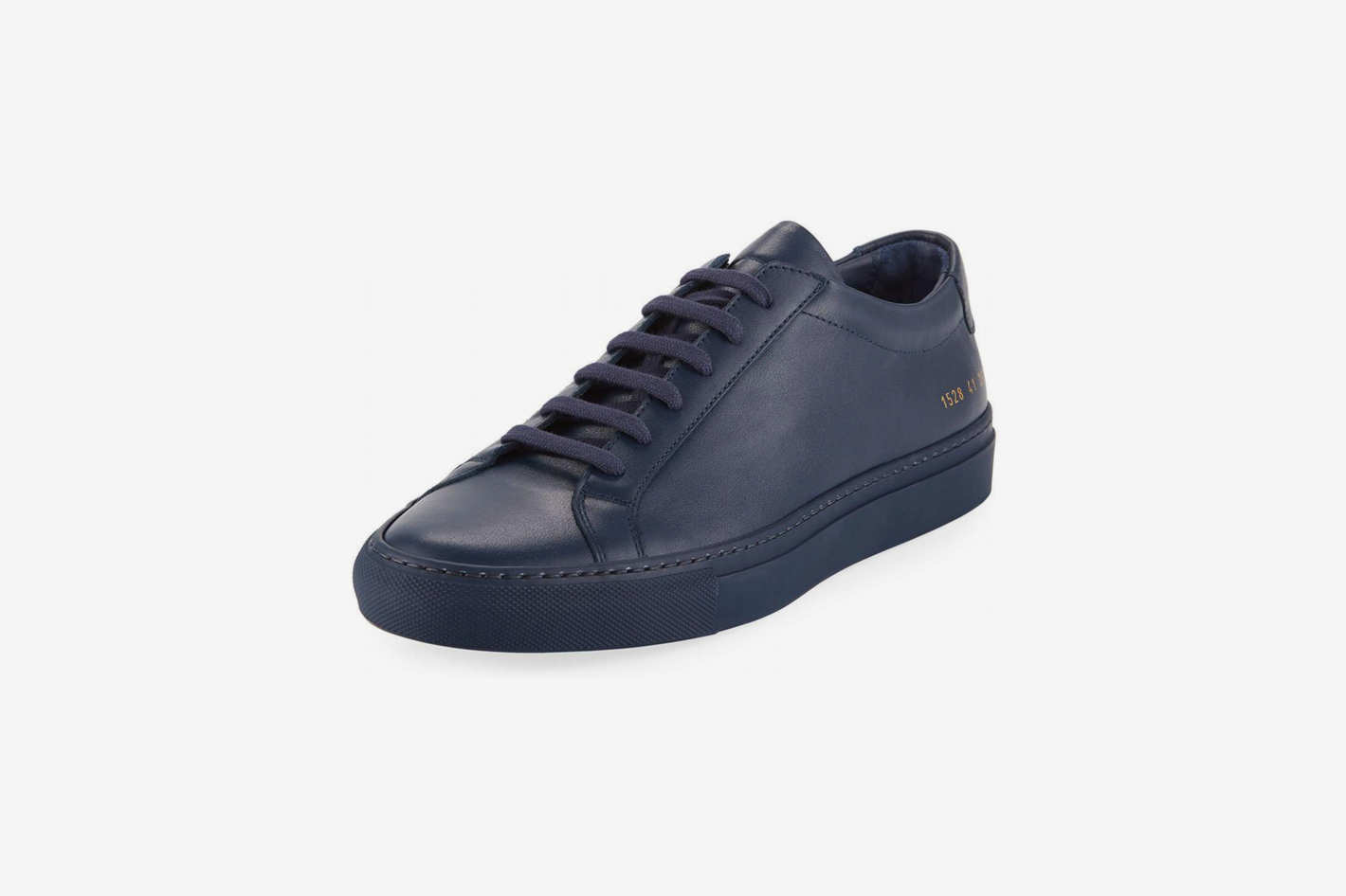 7c4dfda682a5 Common Projects Achilles Grained Leather Sneakers. ""
