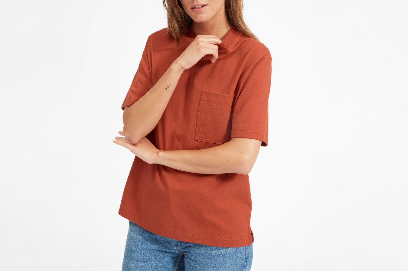 Everlane Oversize Pocket Tee