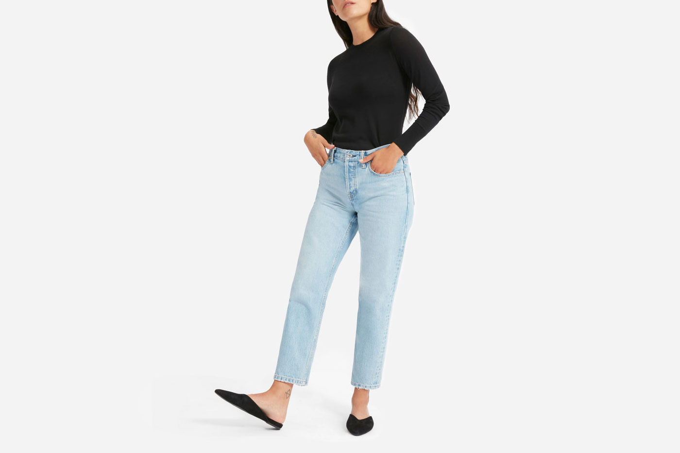 Everlane Luxe Wool Crew