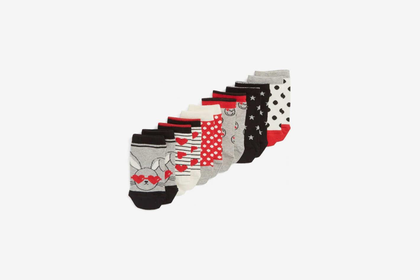 Tucker + Tate 6-Pack Low Cut Socks
