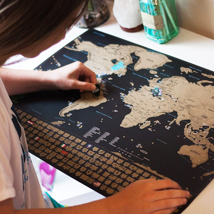 Scratch Off World Map Poster On Sale At Amazon 2019