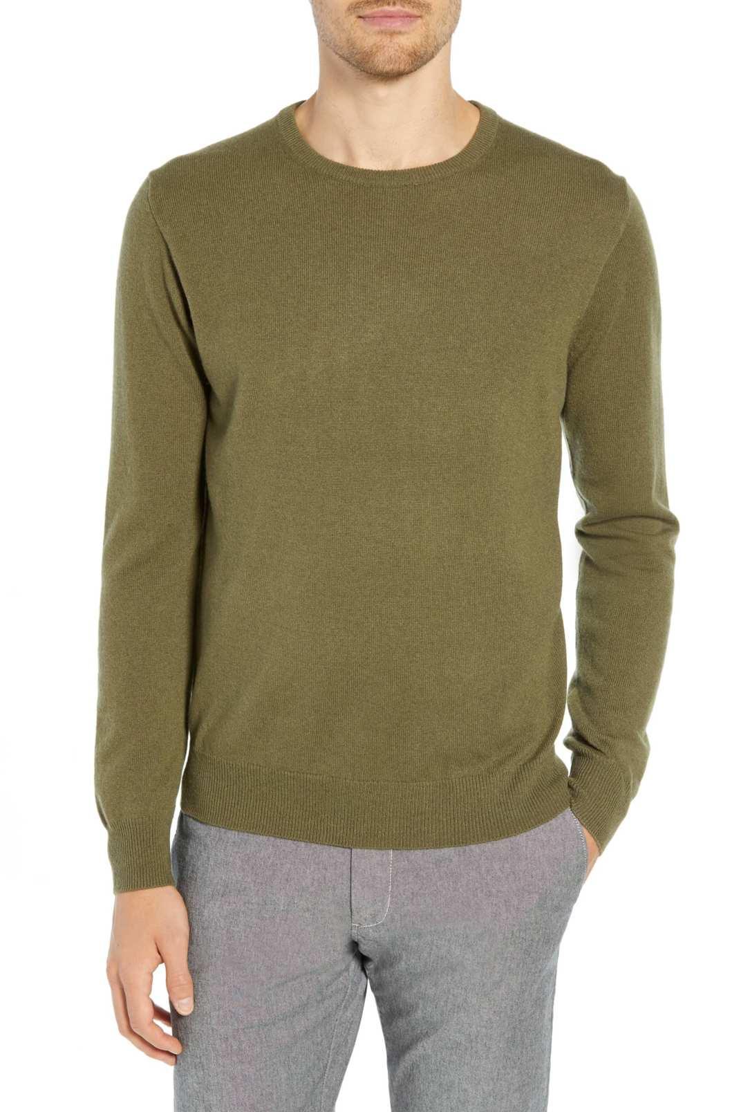 J.Crew Everyday Cashmere Regular Fit Crewneck Sweater