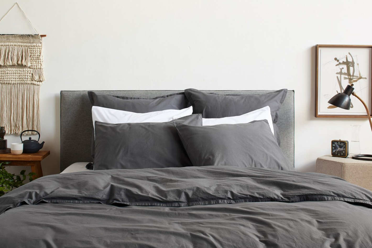 Parachute Percale Duvet Cover Set in Slate